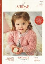 Sirdar Snuggly Bouclette Knitting Pattern Booklet - 5311 Cardiganns